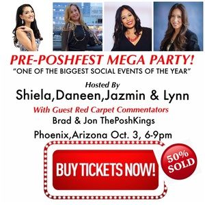 Tickets Selling FAST!!! ! PoshFest 2019 Pre-Party